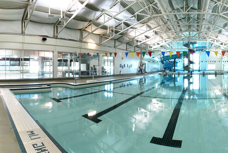 Olds swimming pool